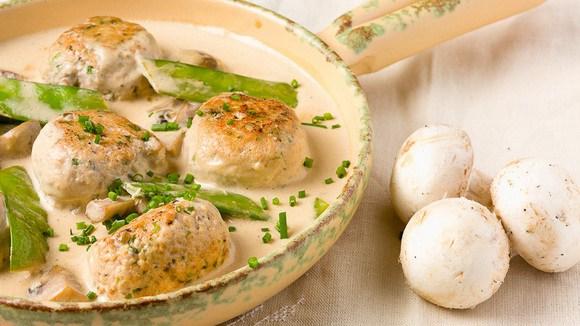 Тефтели грибами рецепт с фото